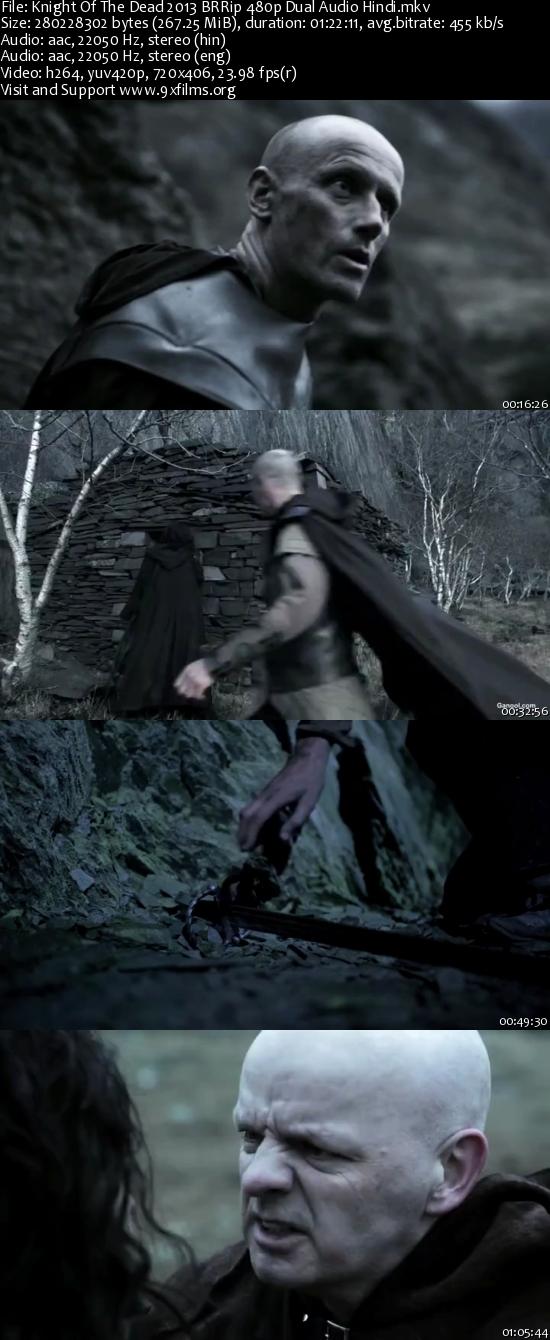 Knight Of The Dead 2013 BRRip 480p Dual Audio Hindi