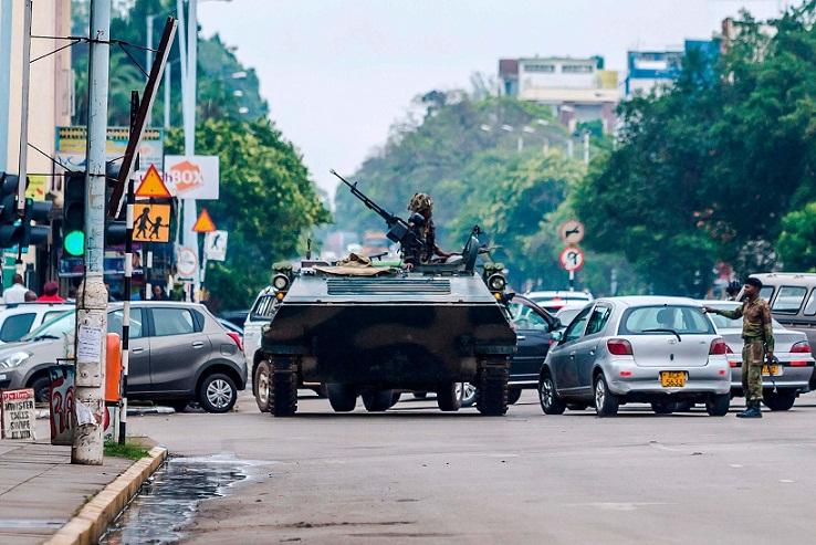 Kabar Kudeta dan Kisruh di Zimbabwe