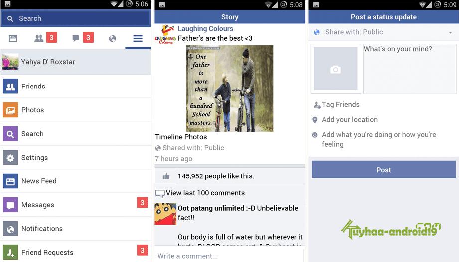Facebook lite terbaru Apk
