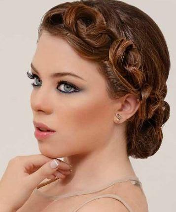 Peinados elegantes con nudos para fiestas belleza y peinados - Peinados faciles y elegantes ...