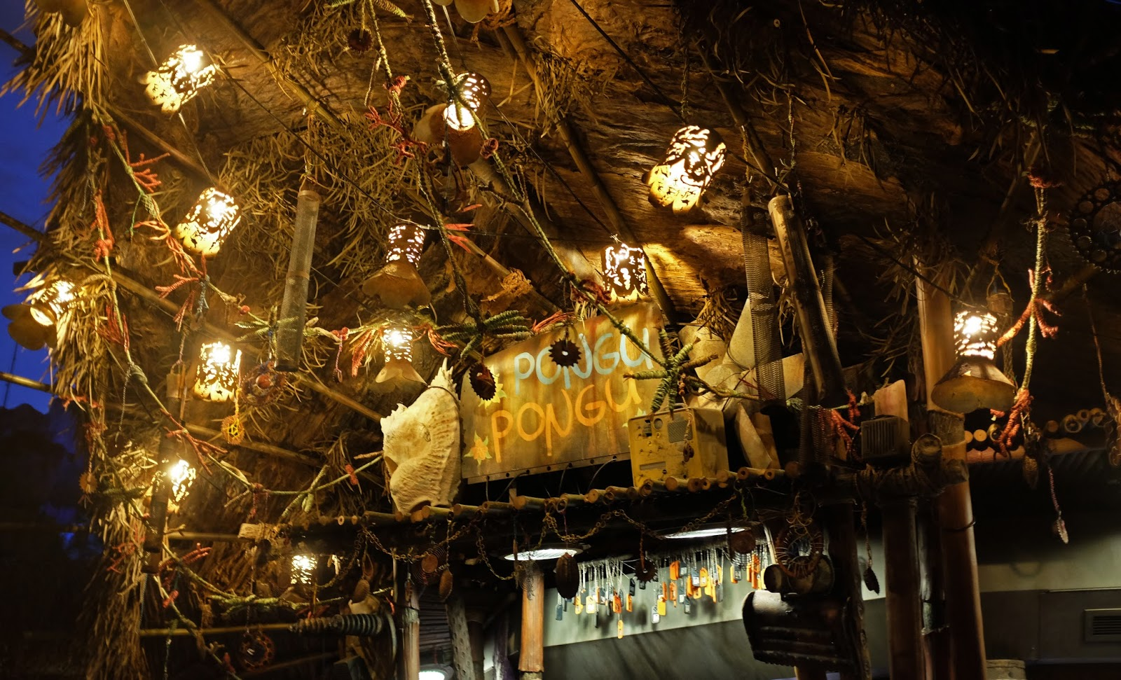 Pongu Pongu drinks stall at Pandora - The World of Avatar