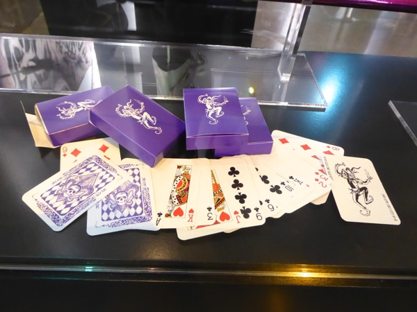 Joker playing cards Suicide Squad props