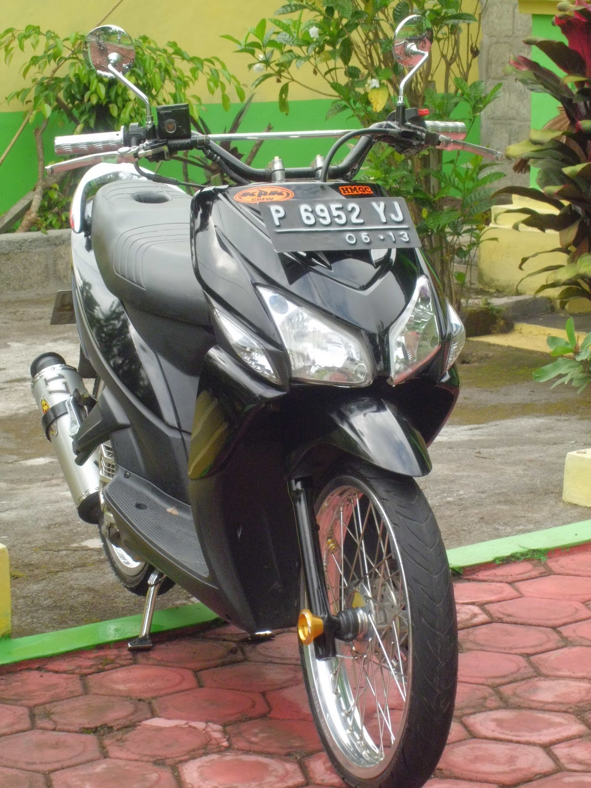 Download Modifikasi Motor Vario 110 Touring Terupdate Velgy Motor