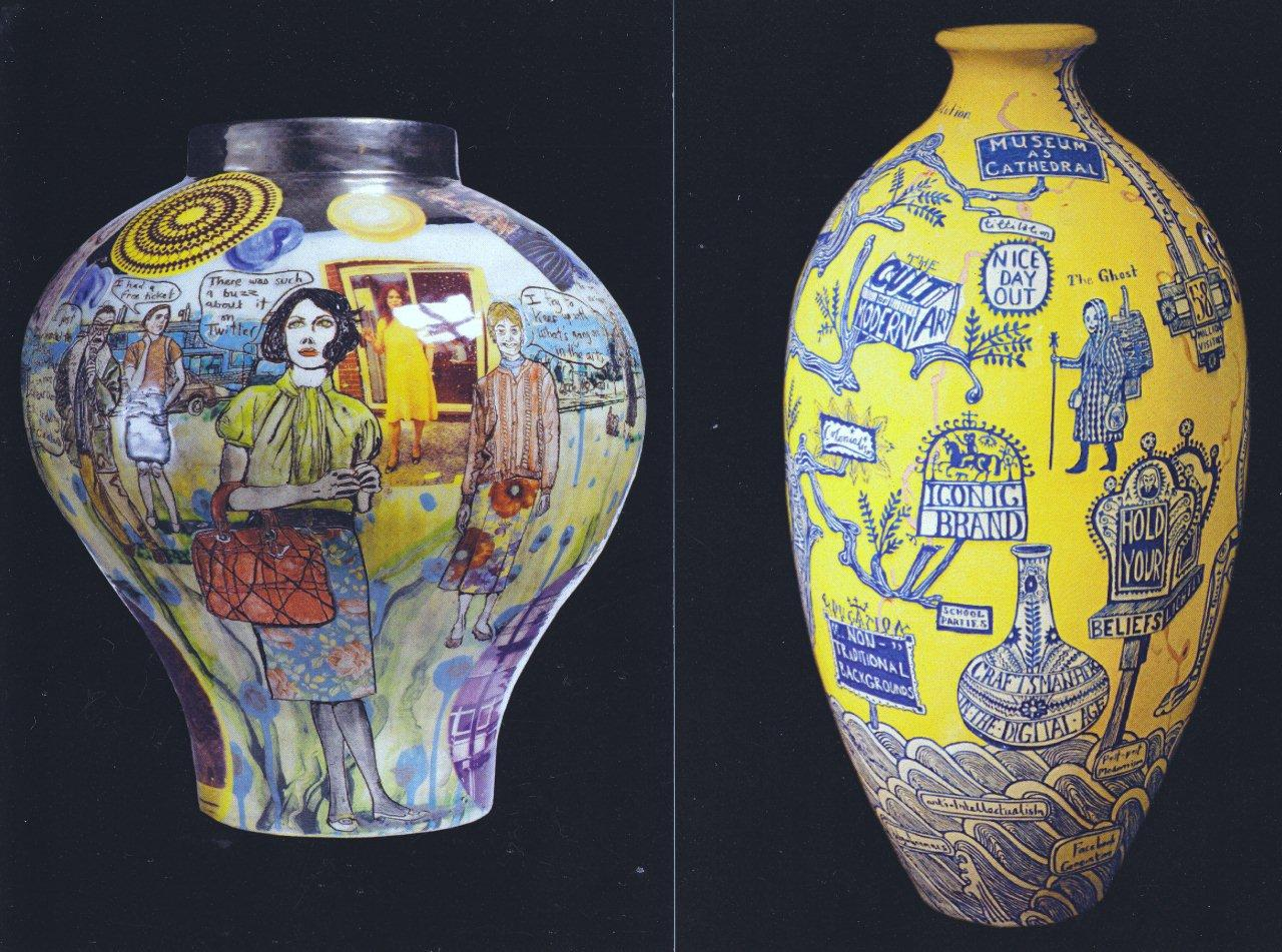 Western independent grayson perry at the british museum some people may find graysons feminine alter ego claire and his teddy bearpersonal god alan measles off putting the latter had ample coverage in reviewsmspy