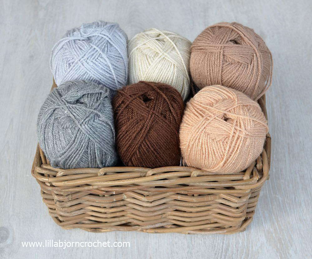 Colour Crafter acrylic yarn by Scheepjes