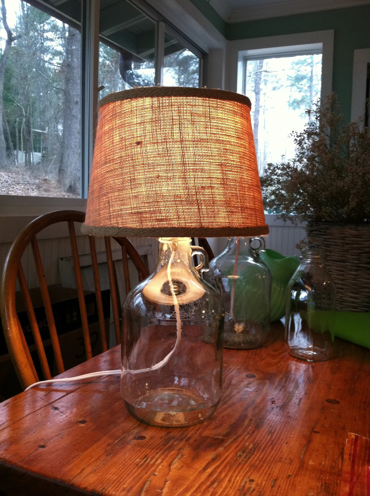Hopes Amp Dreams Diy Bottle Lamp Inspired By Pottery Barn