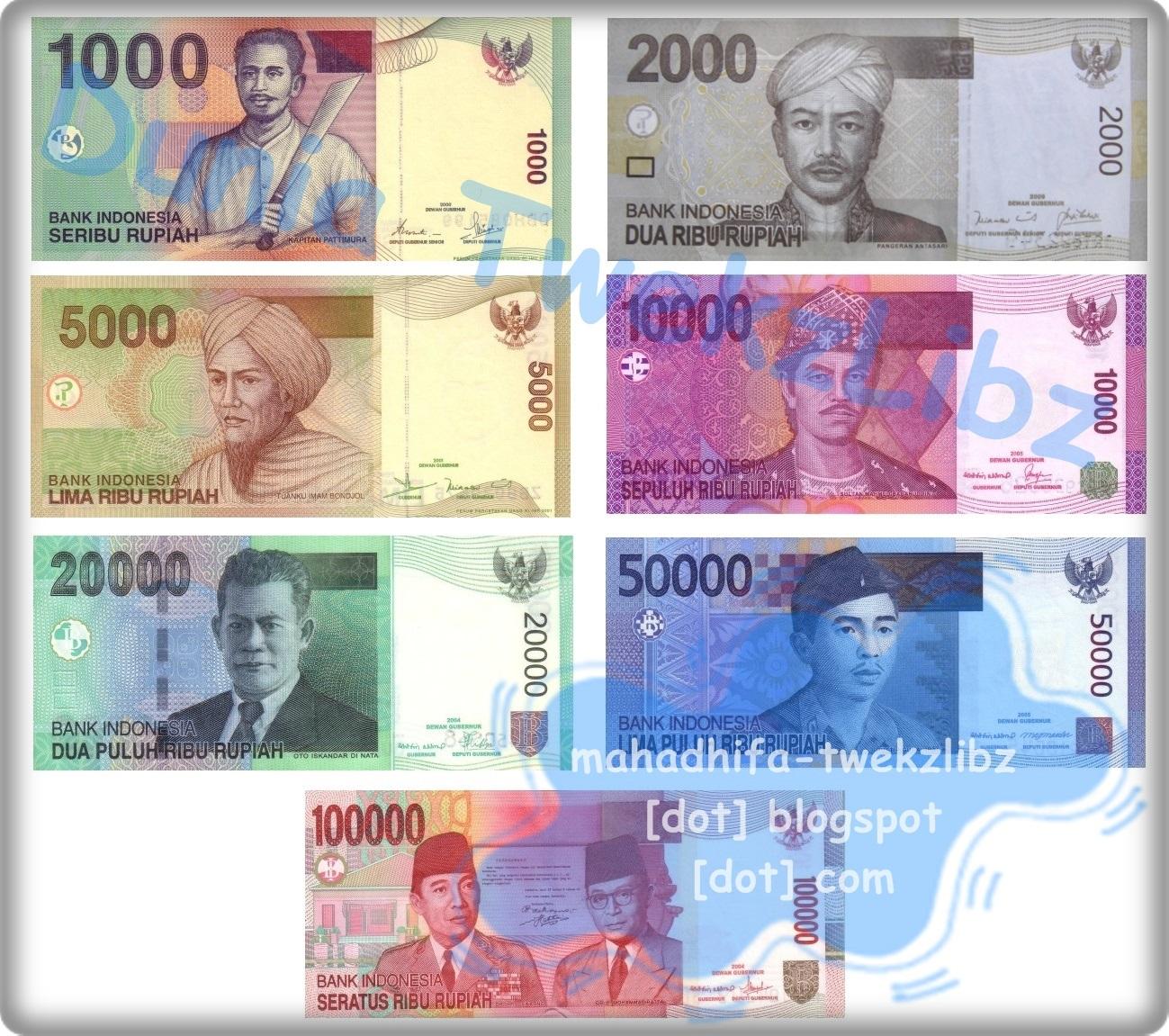 Gambar Pahlawan Pada Uang 100.000