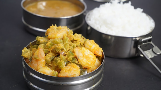 Pudalangai-Kootu-with-Prawns