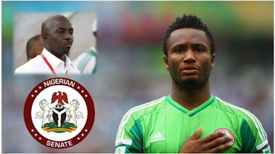"""It's Wrong For Mikel, Siasia To Accept $390,000 Gift"" - Senate Committee Chairman"