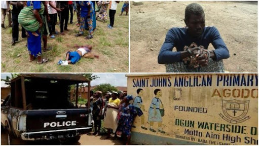 Police Arrests `Lunatic' Who Killed Pupils In Ogun School