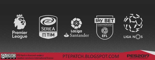 PTE Patch 2017 Licencias, Kits, Nombre de Clubes para PES 17