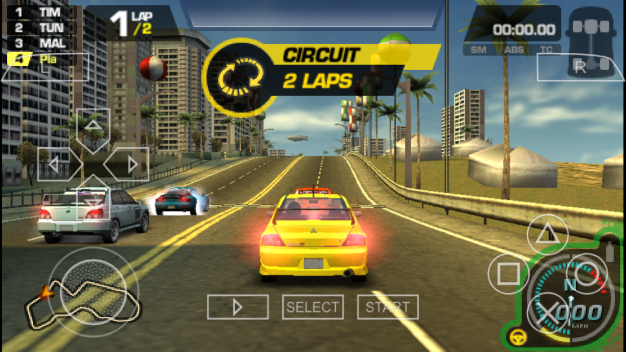Need For Speed ProStreet PSP ISO Free Download - Free PSP ...