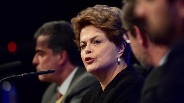 Rousseff: Lula es víctima de un golpe similar al que he sufrido yo