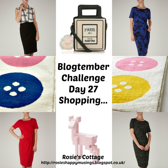 Blogtember Day 27 Shopping
