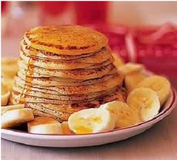 cara membuat resep pancake pisang sederhana