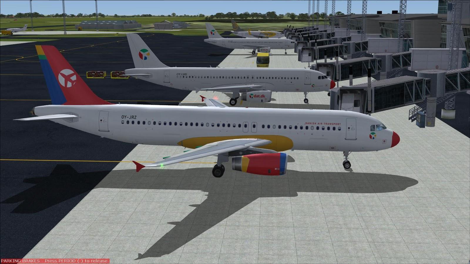 FSRepainter: PROJECT AIRBUS A320-200 DAT-Danish Air