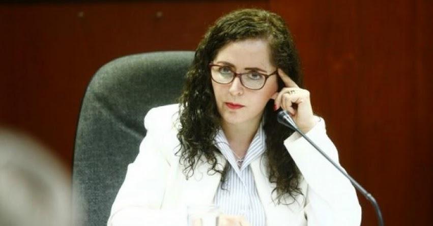 Congresista Fujimorista Rosa Bartra pide retirar ley de formación laboral sin remuneración para estudiantes de institutos