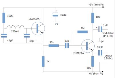 low power am transmitter