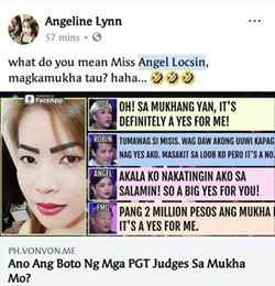 PGT Judges Were featured In The Latest Trend On Facebook! Check This Out!