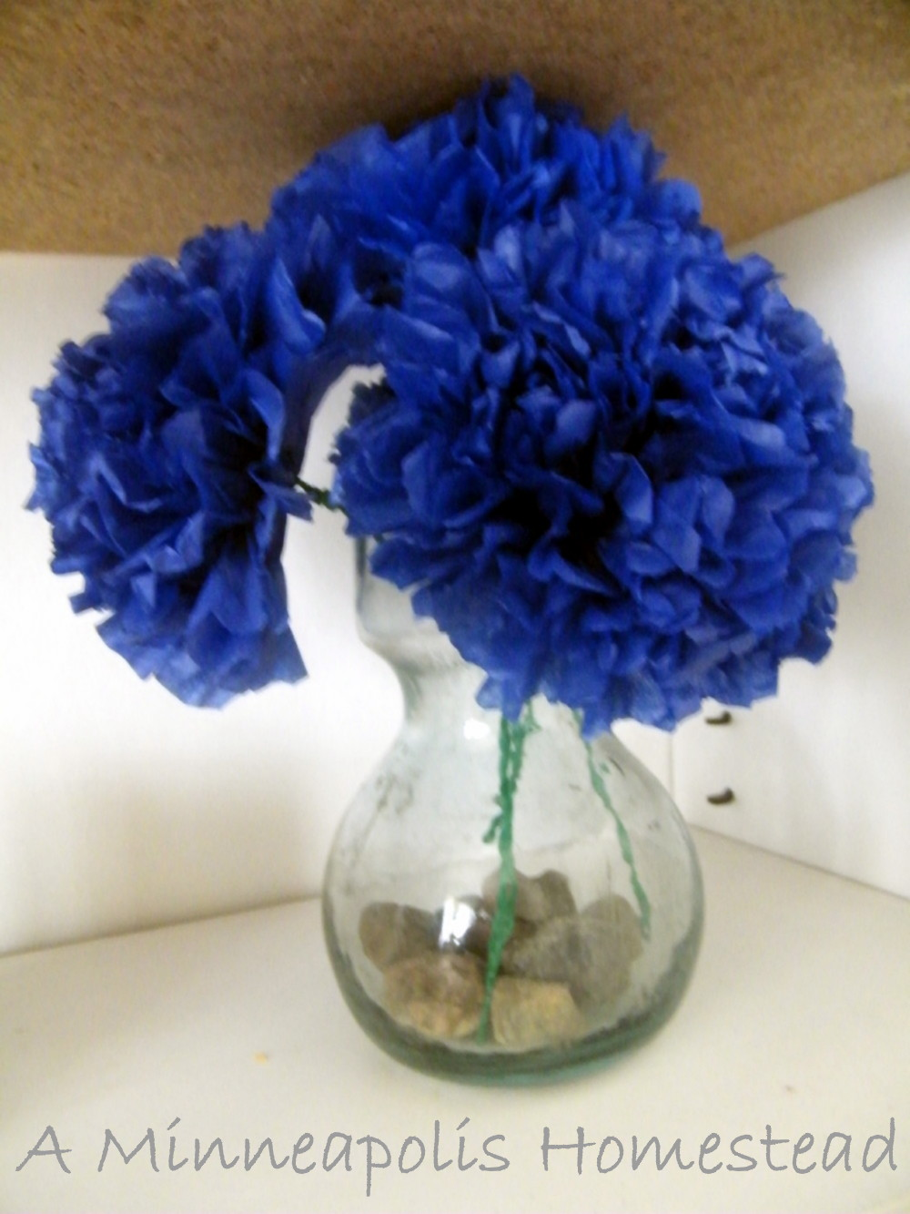 How to Make Paper Flowers  Tissue Flowers Tutorial   Oh You Crafty Gal How to Make Paper Flowers  Tissue Flowers Tutorial