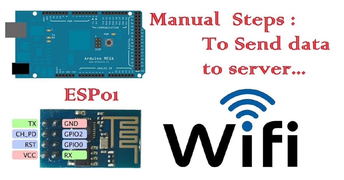 7 Introduction to ESP01 WiFi Module Commands | Arduino Mega - APDaga