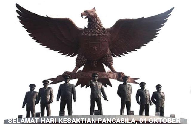 10 Gambar ucapan memperingati hari Kesaktian Pancasila terbaru 2018