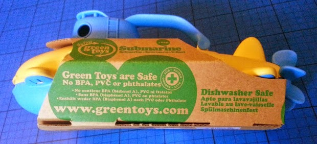 Green Toys Recycled Plastic Submarine review Dishwasher Safe Toys