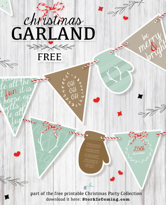 image relating to Printable Christmas Banner identified as Musings of an Regular Mother: Cost-free printable Xmas banners