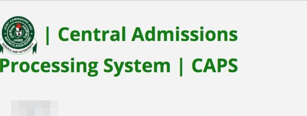 Image result for JAMB CAPS: How to Accept or Reject Admission Offer 2019