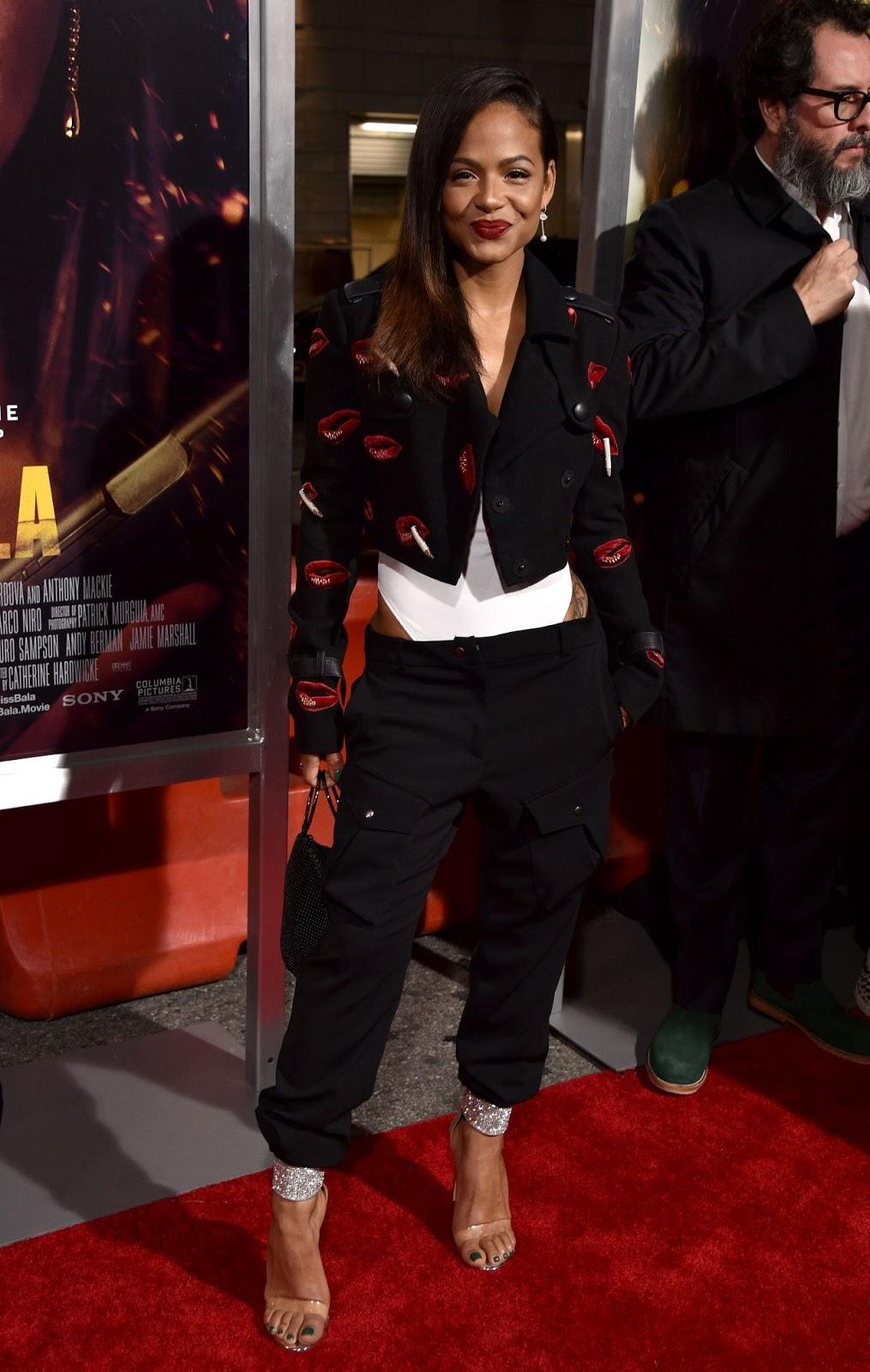 "Christina Milian – ""Miss Bala"" Premiere in LA -  01/30/2019"