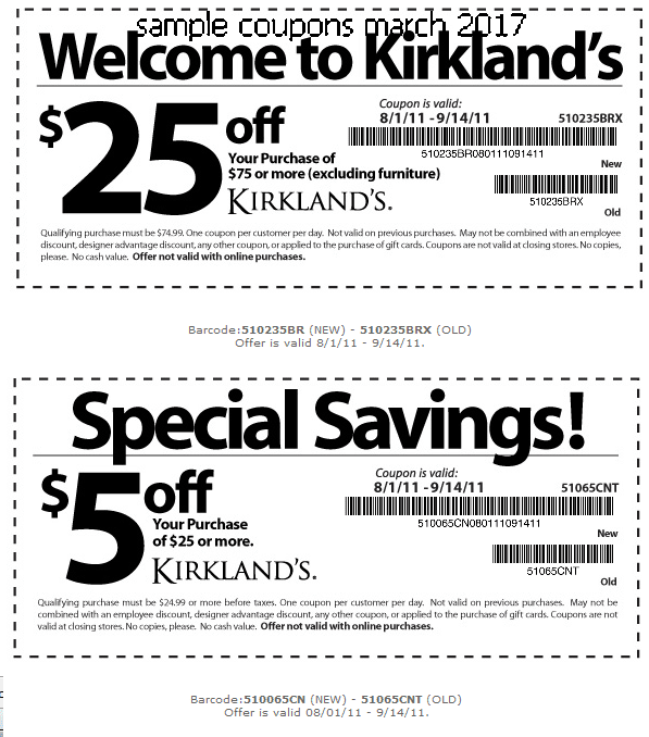 Kirkland's Black Friday Deals Don't miss out on upcoming Black Friday discounts, deals, promo codes, and coupons from Kirkland's! Here you'll find the official sale plus all deals leading up to the big day. Don't forget to check back for any Black Friday free shipping offers!