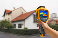 Detecting some heat (with a thermal sensor that shows where energy is leaking from a home). (Credit: Shutterstock) Click to Enlarge.