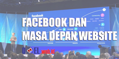 facebook dan masa depan website