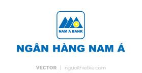 Logo ngân hàng NAM Á vector