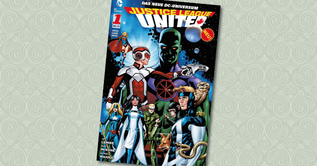 Justice League United 1 Panini Cover