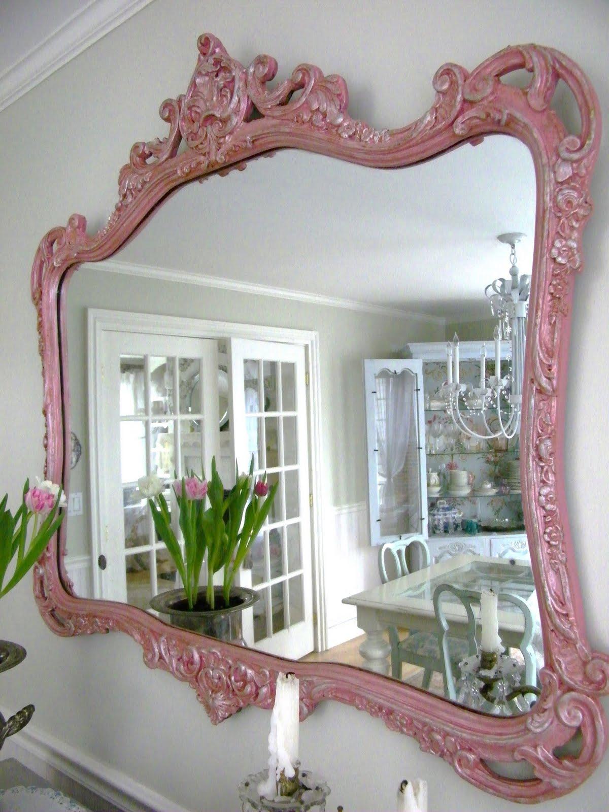Maison Decor Pink Mirror Goes Italian