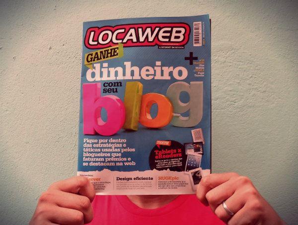 Participação do blog na Revista Locaweb edição 38