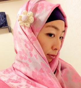 イスラム日本人女性のおしゃれヒジャブの被り方7つの方法