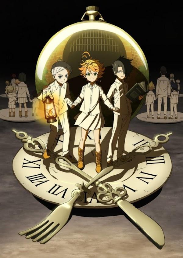 Imagen y Video Promocional del anime de Yakusoku no Neverland