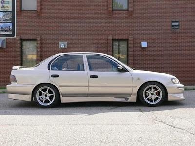 great corolla 1995 modifikasi