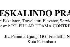 Lowongan PT. Eskalindo Pratama Pekanbaru Januari 2019