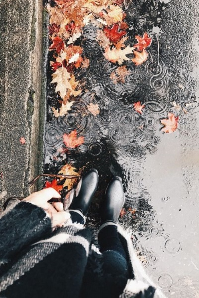 from where i stand d'automne, pluie