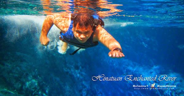 Under Hinatuan Enchanted River - Schadow1 Expeditions