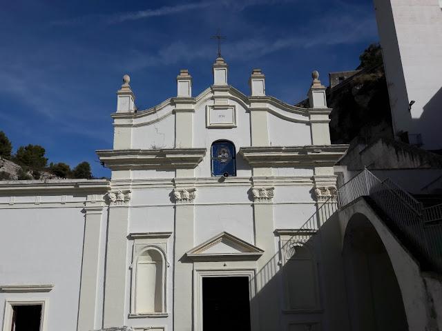 Facciata Santuario Madonna della Scala  a Massafra
