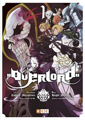 """Reseña de """"Overlord"""" vols 1 a 4 de Kugane Maruyama y Hugin Miyama - ECC Ediciones"""