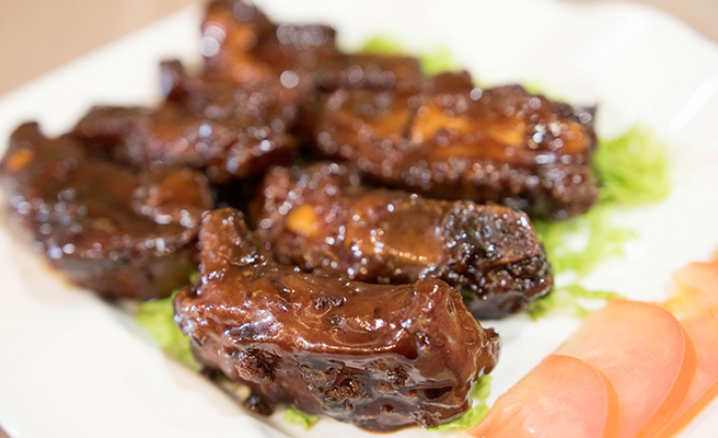 Honey Glazed Pork Rib