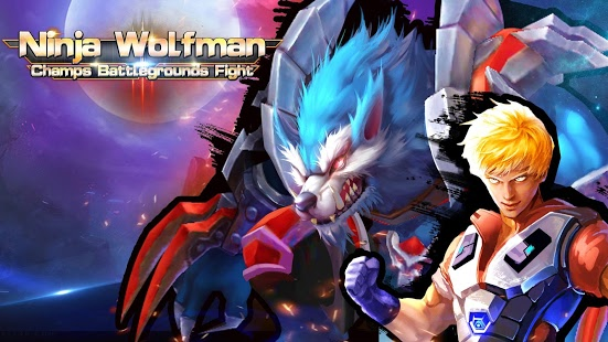 Download Ninja Wolfman Champs Battlegrounds Fight Mod Apk