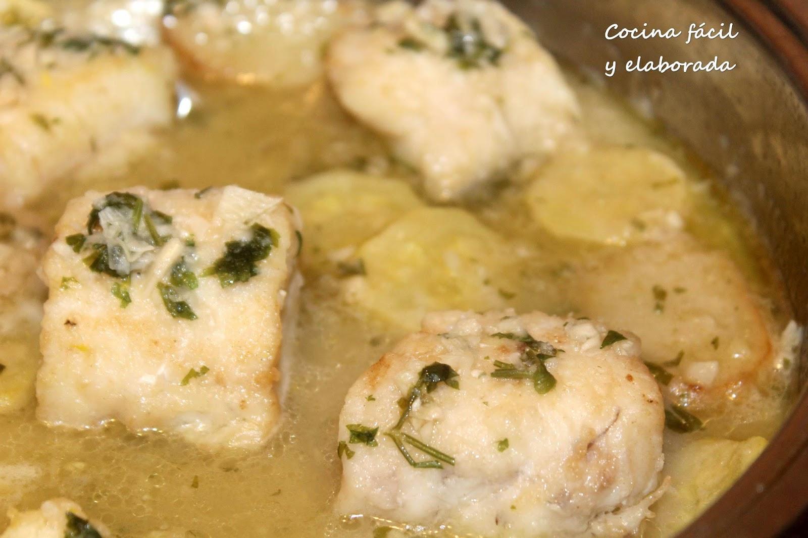 Cocina facil y elaborada merluza en salsa verde receta facil - Videos cocina facil ...