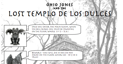 Add the Exponents: Ohio Jones and Graphing Systems of