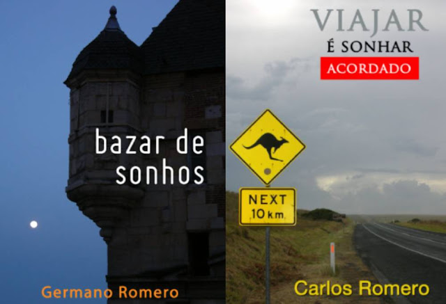 livros bazer de sonhos viajar sonhar acordado ambiente de leitura carlos romero